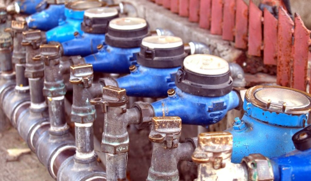 shared water meters